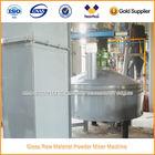 Vidro matéria prima seca misturador de pó máquina
