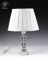 crystal table lamp for living room design