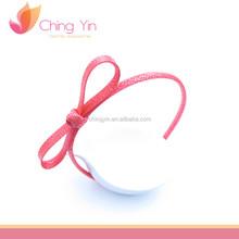 Cute Baby Girls' Fashion Hair Accessories Big Bow Gold Dot Print Plastic Hair Band Headband