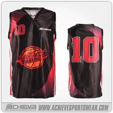 custom design basketball clothing with logo basketball jersey black color