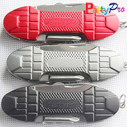 2014 New Laser Client Logo Stainless Steel Pocket Swiss Tool Multi Knife