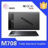 UGEE M708 digitizer graphic tablets with Digital Pen 5080 LPI
