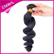 Natural Color Loose Wave Hair Bundles Cheap Brazilian Human Hair Weft