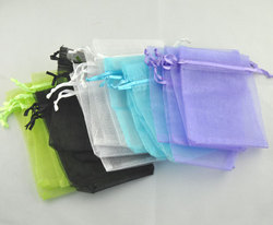 Hot Sale Mixed Draw String Organza Wedding Gift Pouch &bags