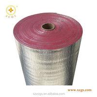 Class1/Class A flame retardant coating aluminum foil/crosslinked foam/fabric/aluminum foil sandwich insulation