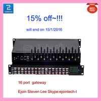 15% discount end on 15, 1,2016 Ejoin 16 port VOIP gateway GSM sim box