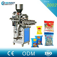 Auto Warning Protection Chips Nitrogen Packing Machine For Food
