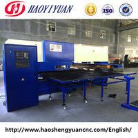 CNC punching machine of steel plate