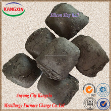 High quality and best price silicon slag/si slag ball/briquette made in china mainly export to Korea and Japan
