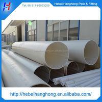 Trade Assurance Manufacturer 700mm white color large diameter plastic pipe on sale,large diameter plastic drain pipe