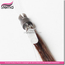 hair exensions can be bleached factory price human hair extensions clip in