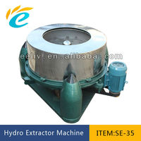 stainless steel centrifugal hydro extractor