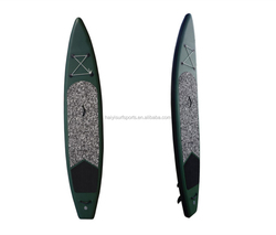 High quality PVC fabric Inflatable surfboard type stand up paddle board inflatable with air pump