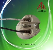 E27 HH519 Ceramic lamp socket/E27 lampholder