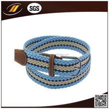 Wholesale Unisex PU Braided Knitted Belt