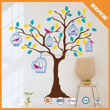 Yapay ağaç, popüler büyük satış aile ağacı duvar sticker