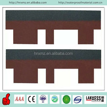 Cheap Bitumen Goethe Tiles Asphalt Red Roofing Shingles