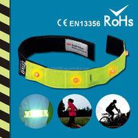 Reflective LED Safety Armband CE EN13356