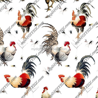 2015 new design digital printing fabric animal print