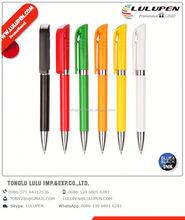 metal ball point promotional pen with unique barrel design; clock ballpoint pen; desk ball pen for promotion