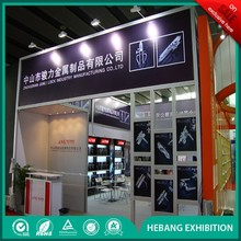 2015 Easy to Assemble Beautiful Hebang Booth Ideas for Trade Shows