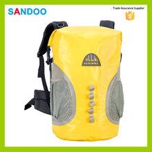 Bsci auditoria SANDOO saco à prova d ' água amarelo à prova d ' água bag para 2016