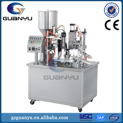 Laminated tube filling machine for cosmetics cream, toothpaste