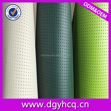 high quality wear-resistence perforated leather car seat cover leather