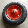 High quality material handling equipment rubber wheel 350-8