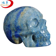 "lapis lazuli stone customize craving 2"" 3"" 4"" skull crafts"