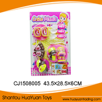2015 Popular Nice Plastic Toy Cake Set Toy Cake Set for kid cake mania CJ1508005