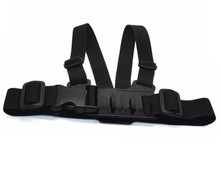 Junior chesty with J-hook bracket and screw,smaller/adjustable chest mount harness for children more than 3 years old