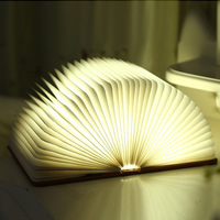 New fashion Romantic beautiful indoor USB power decoration lamp with book shape,Bedroom Led Night Lamp