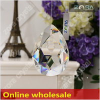 Free sample AAA Top Quality glass chandelier parts-63mm Crystal Drops N209