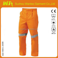 kids adult High visibility reflective working trousers men pants