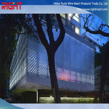 perforated / laser cut metal outdoor balcony screen privacy screen