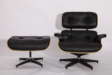 Bulk buy China best charles eames lounge genuine leather chair and stool