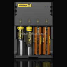 batterie ricaricabili litio caricabatterie 12v carica cellulare solare Nitecore charger i4/deep cycle batteries