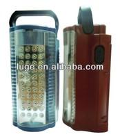 6V battery backup led emergency light with 44 LED with portable handle