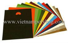 vietnam die cut plastic carrier bag