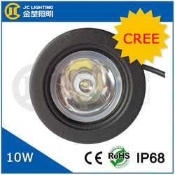 Round international truck headlight led headlight motorcycle 10w mini cooper projector headlight