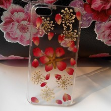 Dry pressed real flower case for case sony z3 wholesale cell phone accessory for sony z2, cover case for sony