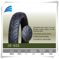 china motorcycle tire manufacturer Motorcycle Tubeless Scooter Tire Tyre 100/60-12 100/90-18