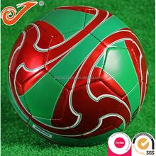 Fancy Laser soccer football cool soccer ball custom color PU football