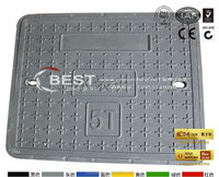 EN124 Composite Fiberglass Water Mete Box Cover