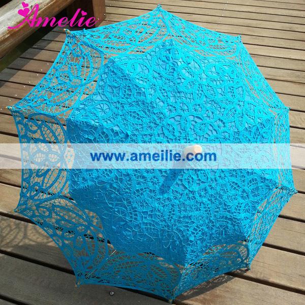 A0104 Royal blue lace parasol (2).jpg