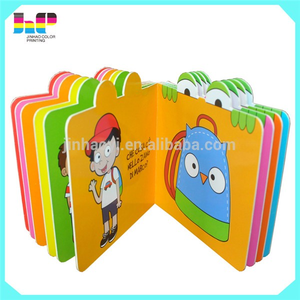 3D Child book,3D Child book printing,baby soft book