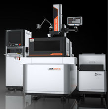New machinery-Wise CNC medium speed wire cut/electric discharge machine/EDM with High efficiency(DK7732C-CH)