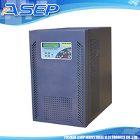 LCD display Line interactive pure sine ups with external battery