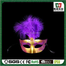 2015 fashion LED Hallowmas party red female face mask